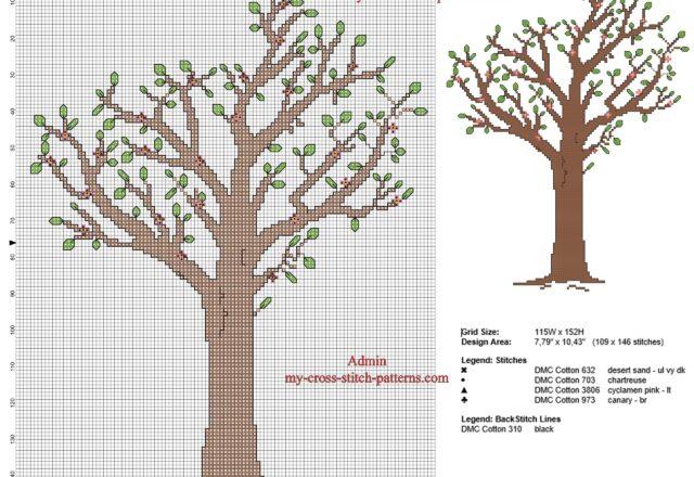 albero_di_pesco_schema_punto_croce_con_uso_del_punto_scritto