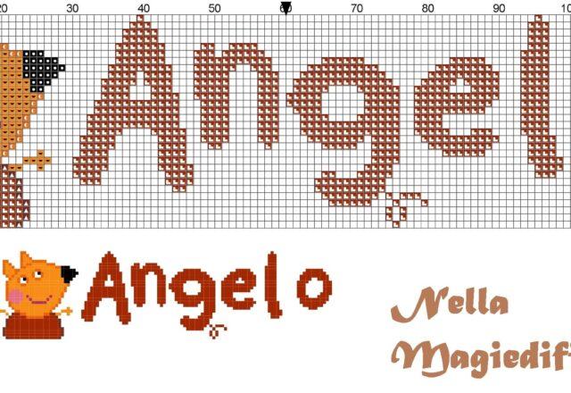 angelo_nome_con_freddy_la_volpe_amico_di_peppa_pig