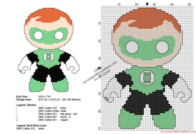 baby_lanterna_verde_schemi_punto_croce_gratis_supereroi_50x69