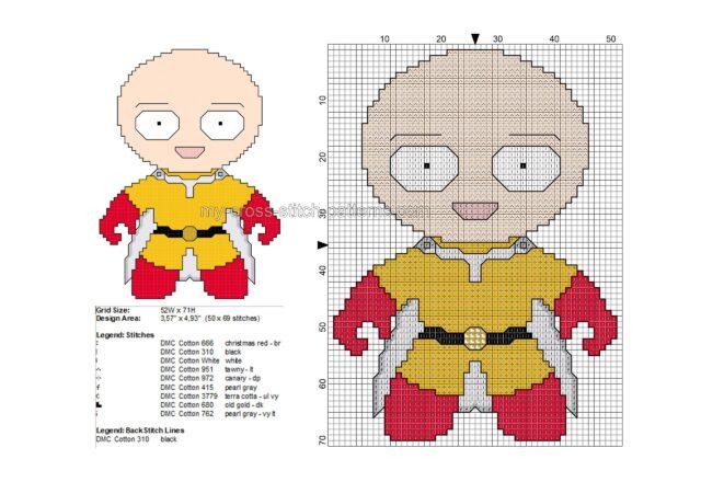 baby_saitama_one_punch_man_schema_punto_croce_gratis_50x69