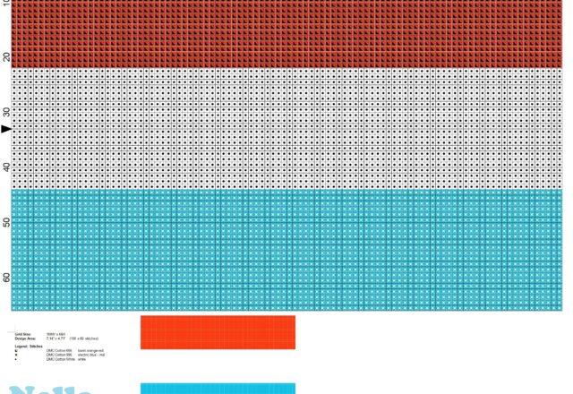 bandiera_lussemburgo_schema_punto_croce_