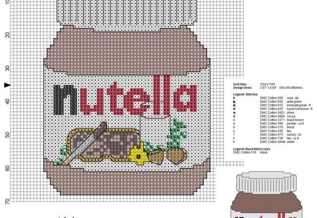 barattolo_di_nutella_schema_punto_croce_50_x_65_crocette_13_colori_dmc