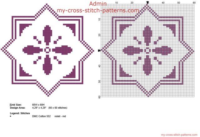 biscornu_geometrico_viola_schema_punto_croce_60_x_60_crocette