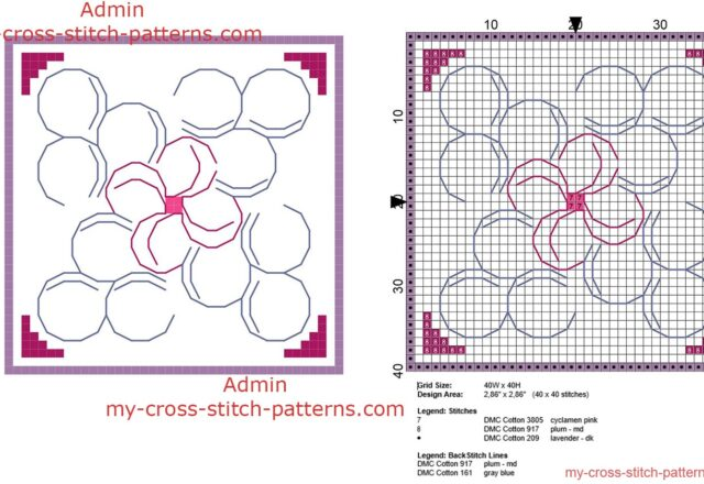 biscornu_schema_punto_croce_con_forme_di_petali_dimensioni_40_x_40_crocette