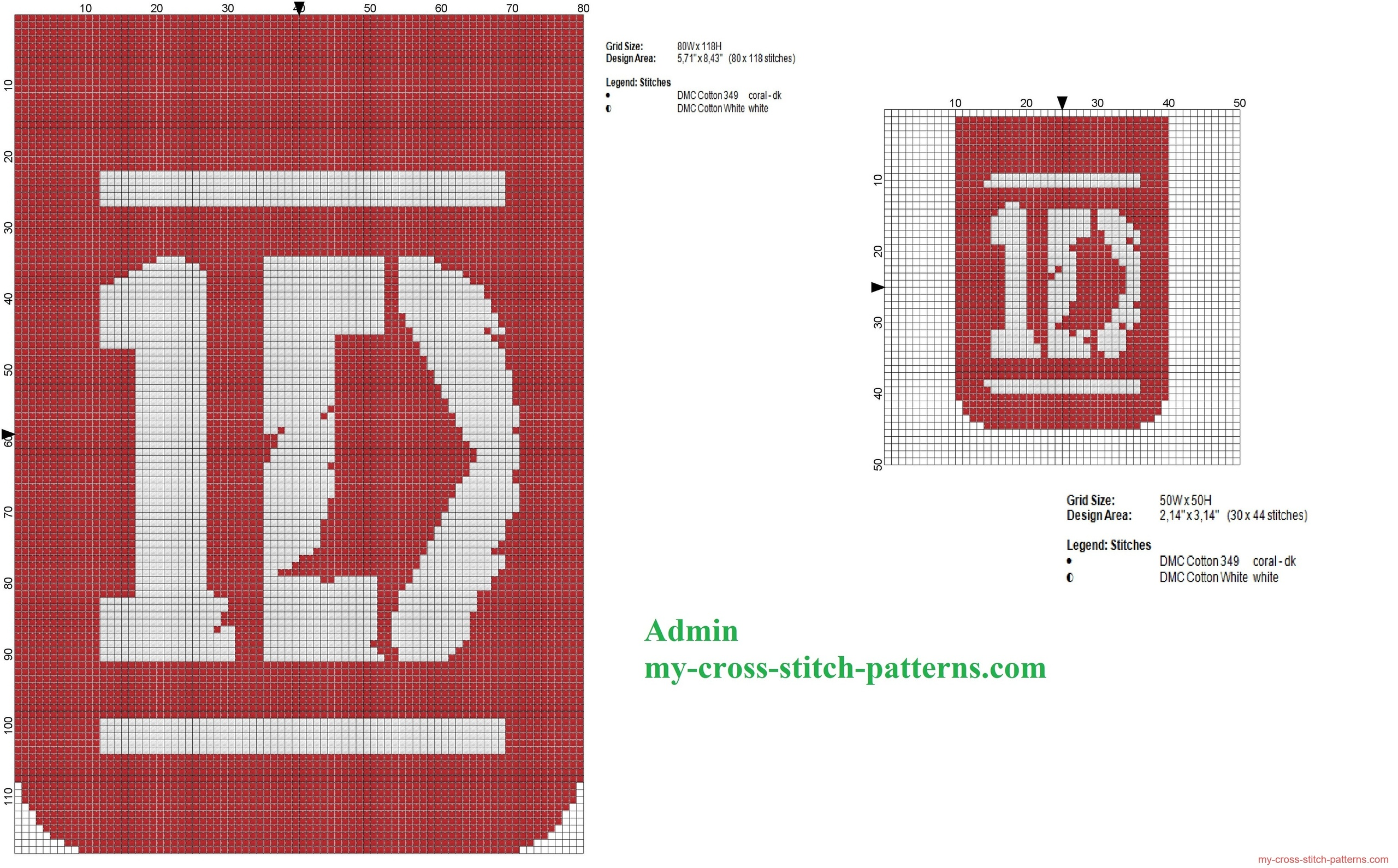due_schemi_punto_croce_del_logo_dei_one_direction