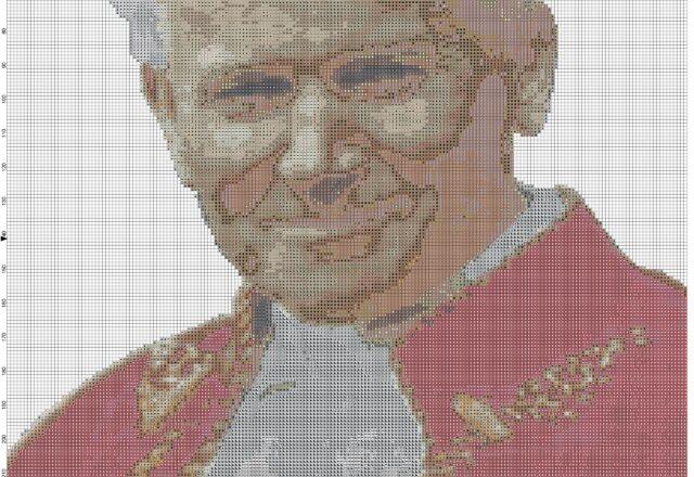 giovanni_paolo_ii_papa_wojtyla_schema_punto_croce_quadro_schema