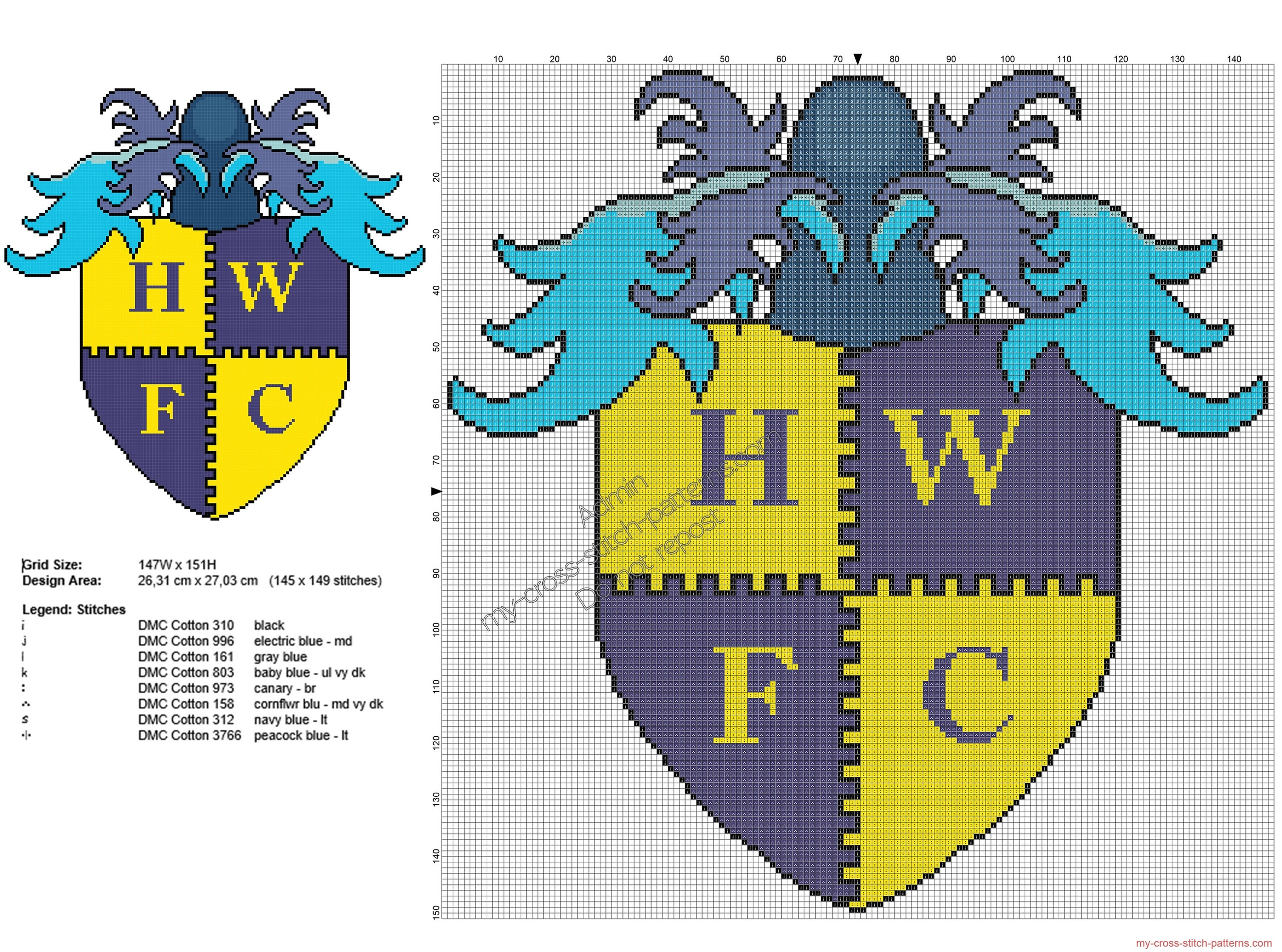 havant__waterlooville_fc_squadra_di_calcio_schema_ricamo_145x149