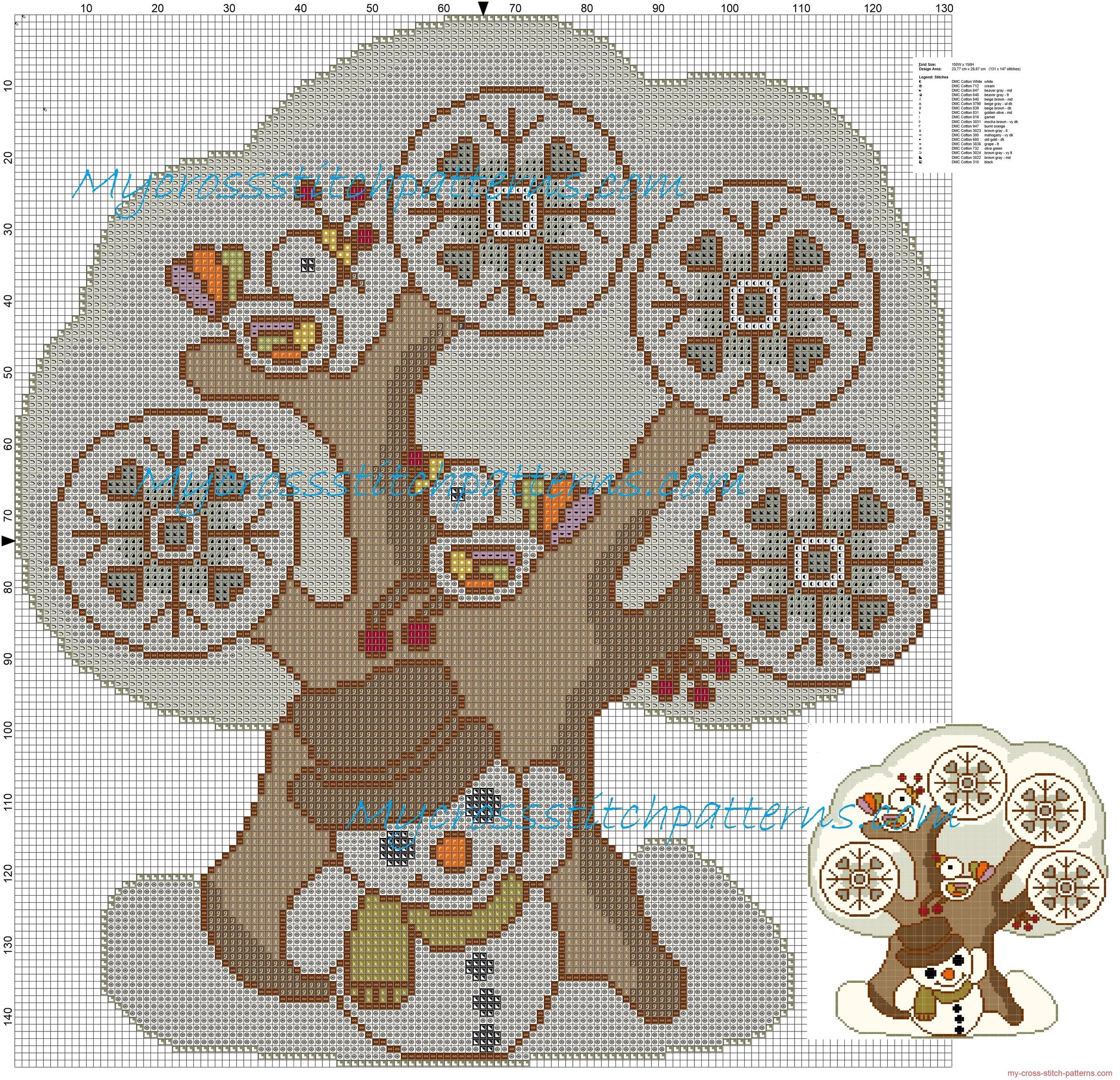 le_quattro_stagioni_thun_inverno_schema_punto_croce_gratis