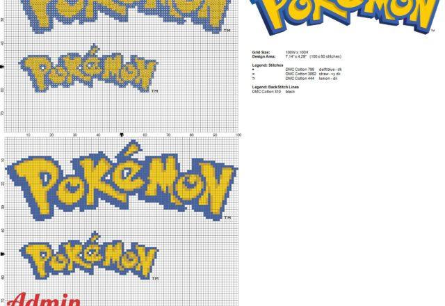 logo_dei_pokemon_a_punto_croce_in_due_grandezze