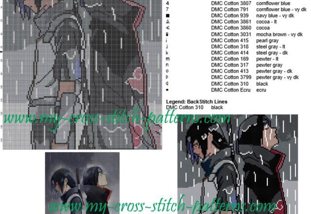 schema_punto_croce_sasuke_e_itachi_