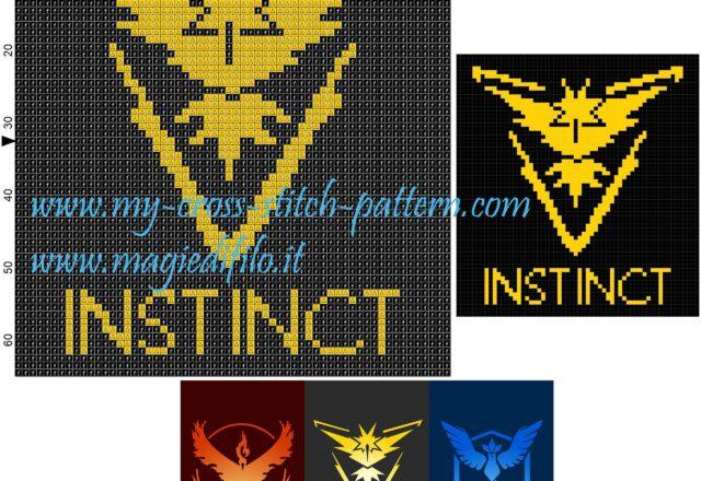 schema_punto_croce_team_instinct_pokemon_go_