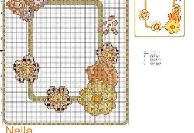 schema_punto_croce_thun_centrino_fiori_e_farfalla